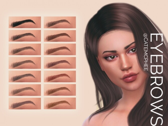 EB-12 Brittany Brows by catemcphee