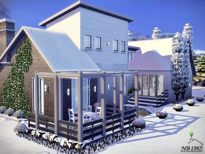 Sims 4 Scandinavian Holiday Home by nobody1392 at TSR
