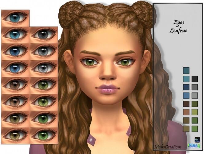 Eyes Leafrue by MahoCreations