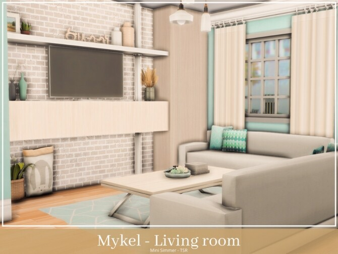 Mykel Living room by Mini Simmer