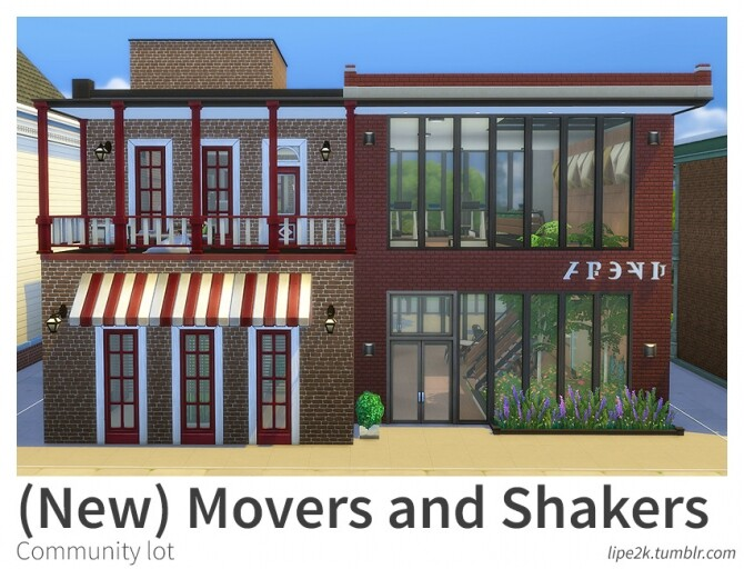 Sims 4 Movers and Shakers at Lipe2k