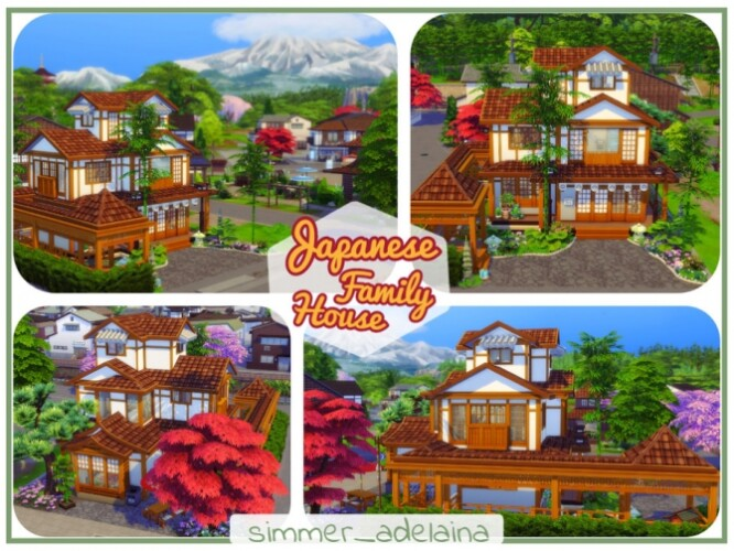 Japanese Family House by simmer_adelaina