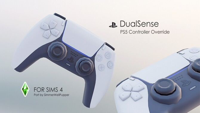 Sims 4 PS5 DualSense Controller Override Functional by SimmerWellPupper at Mod The Sims