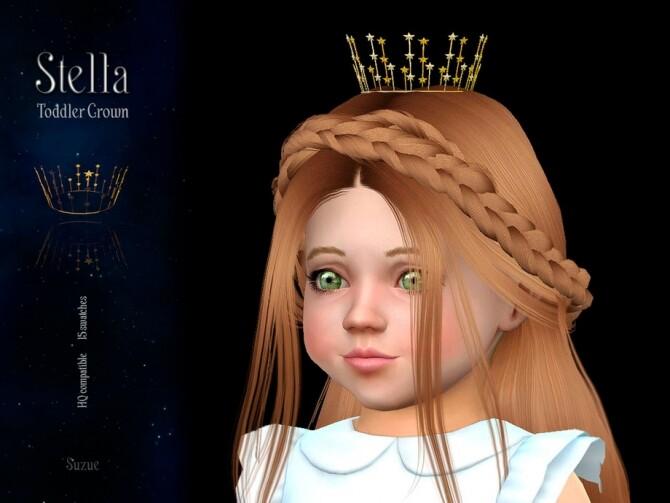 Stella Toddler Crown by Suzue