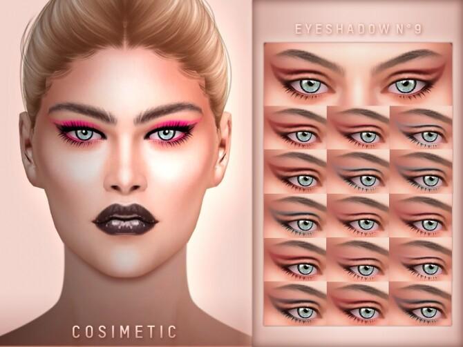 Eyeshadow N9 by cosimetic