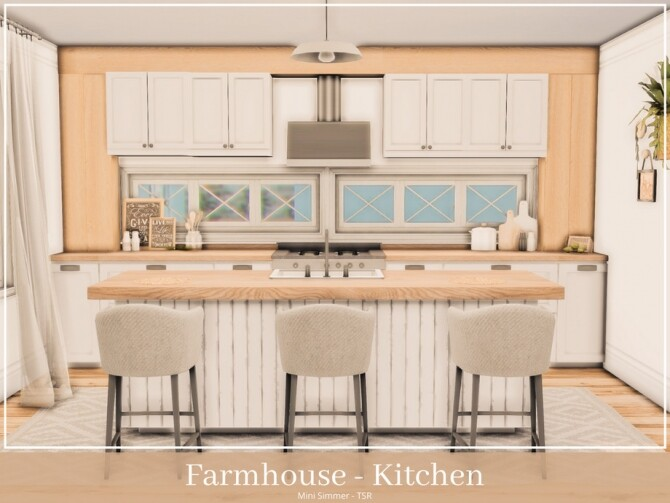 Farmhouse Kitchen by Mini Simmer