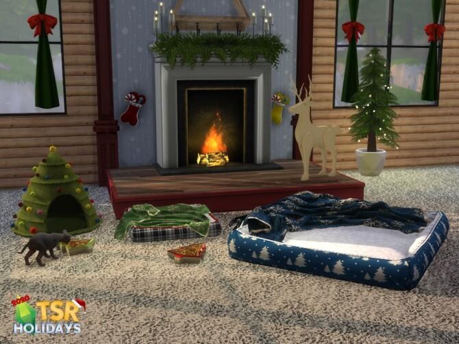 Sims 4 Santa Paws Holiday Wonderland by sim man123 at TSR