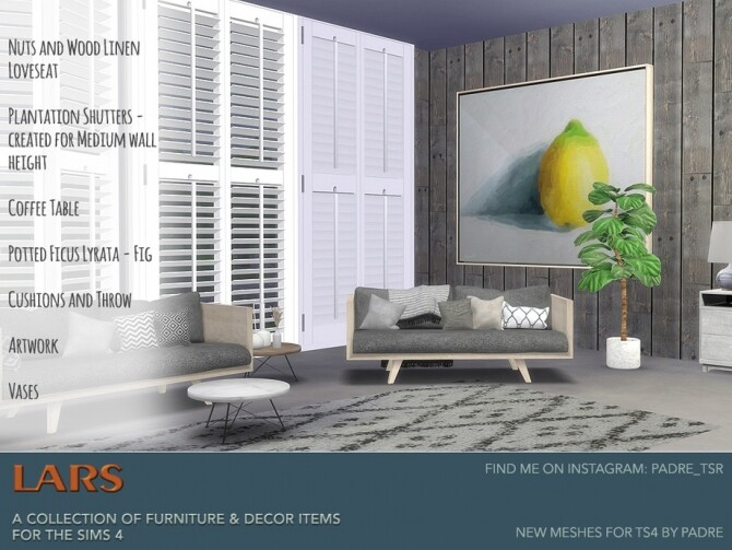 Lars Modern Living Room by padre