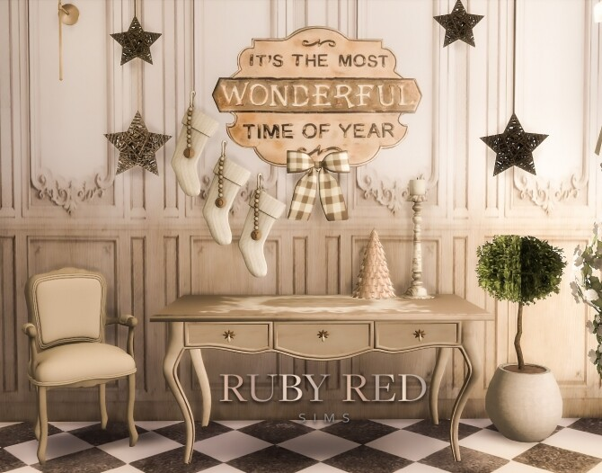Sims 4 Christmas Set Part 2 at Ruby Red