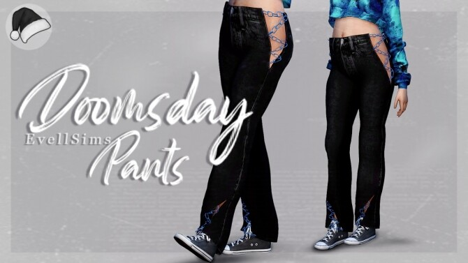 Doomsday Pants at EvellSims image 963 670x377 Sims 4 Updates