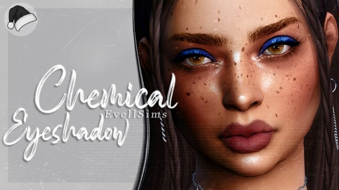 Sims 4 Chemical Eyeshadow at EvellSims