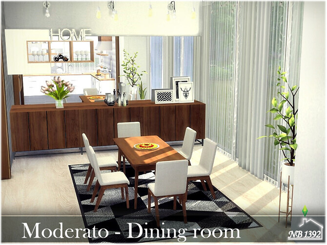 Moderato Dining Room by nobody1392