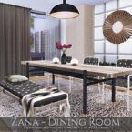 Zana Dining Room By Rirann