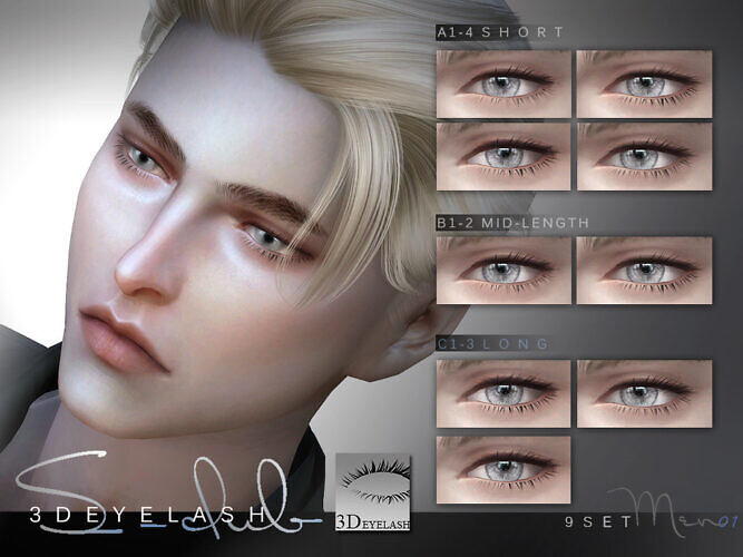 3d Eyelashes M V1 By S-club
