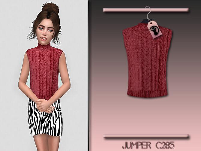 Sims 4 Jumper C285 by turksimmer at TSR