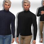 Turtleneck Pullovers M By Saliwa
