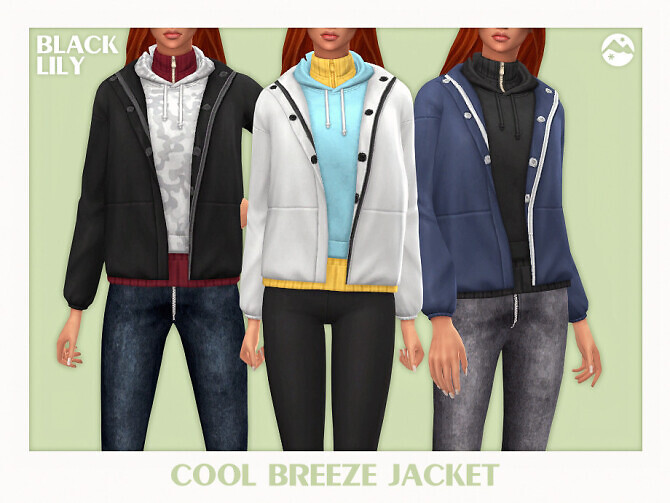 Sims 4 Cool Breeze Jacket by Black Lily at TSR