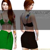 Tmist Skirt By Carvin Captoor