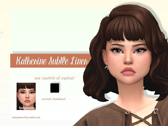 Sims 4 Katherine Subtle Highlight by LadySimmer94 at TSR