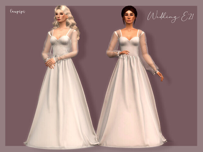 Wedding Dress Dr-392 By Laupipi