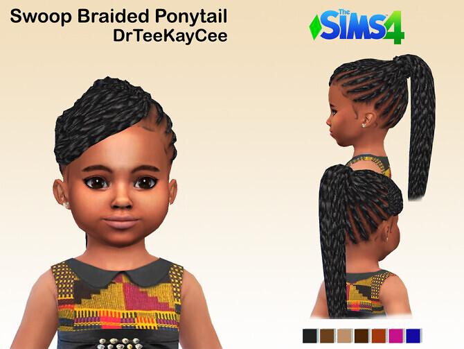 Swoop Braided Ponytail by drteekaycee