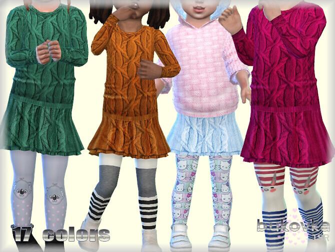 Sims 4 Textured Skirt by bukovka at TSR