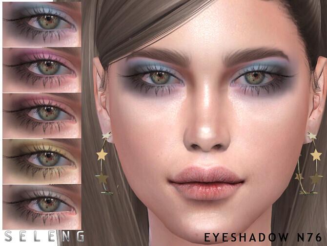 Sims 4 Eyeshadow N76 by Seleng at TSR