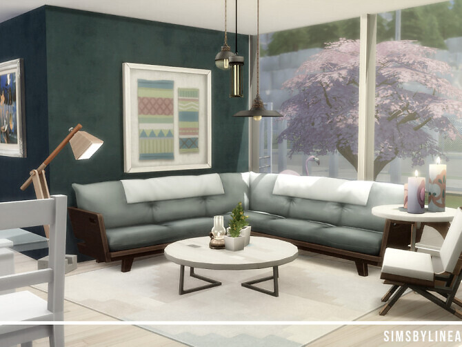 Sims 4 Teal Twins by SIMSBYLINEA at TSR