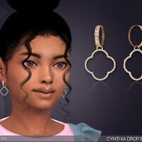 Cynthia Drop Earrings For Kids By Feyona