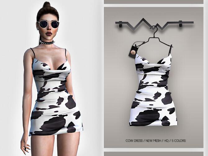 Cow Dress BD399 by busra-tr