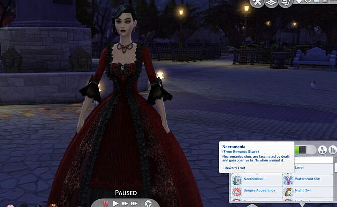 Sims 4 Necromania Reward Trait by MissBee at Mod The Sims