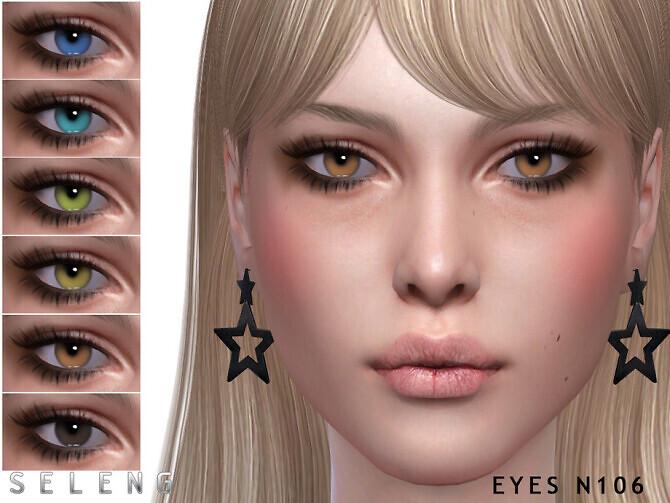 Sims 4 Eyes N106 by Seleng at TSR