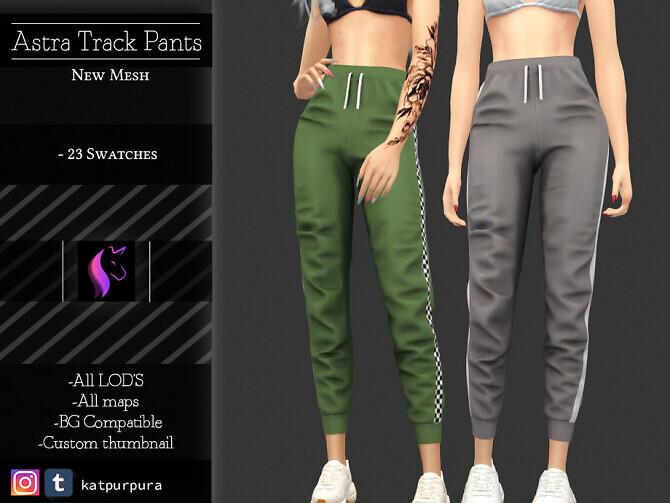 Astra Track pants by KaTPurpura