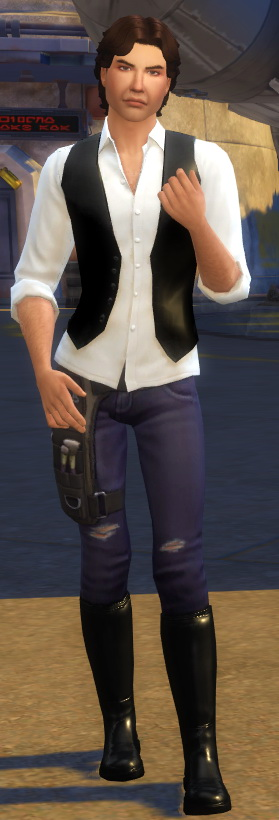 Sims 4 Han Solo Shirt + Extra Pants by soaplagoon at Mod The Sims