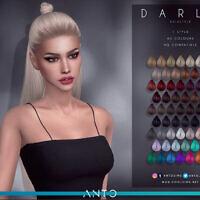 Darla Long Hair With Bun By Anto