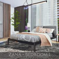 Zana Bedroom 1 By Rirann