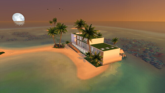 Sims 4 Tropicalia home by Bellusim at Mod The Sims