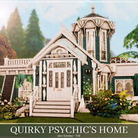 Quirky Psychic's Home By Mini Simmer