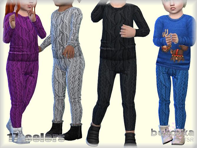 Sims 4 Textured Pants by bukovka at TSR