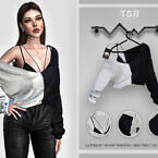 Clothes Set-110 Knit Sweater Bd417 By Busra-tr
