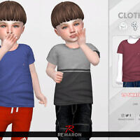 Simple Shirt For Toddler 01 By Remaron