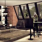 Loft Living Room By Danuta720