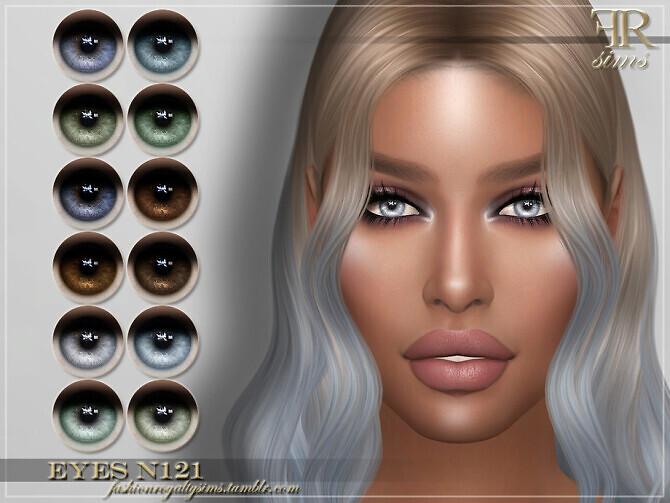 Sims 4 FRS Eyes N121 by FashionRoyaltySims at TSR