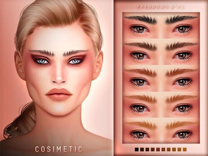 Eyebrows N21 by cosimetic