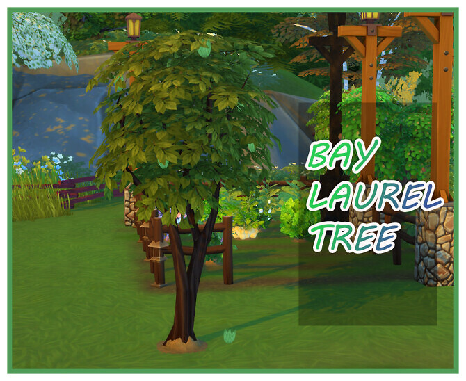 Sims 4 HARVESTABLE BAY LEAF at Icemunmun