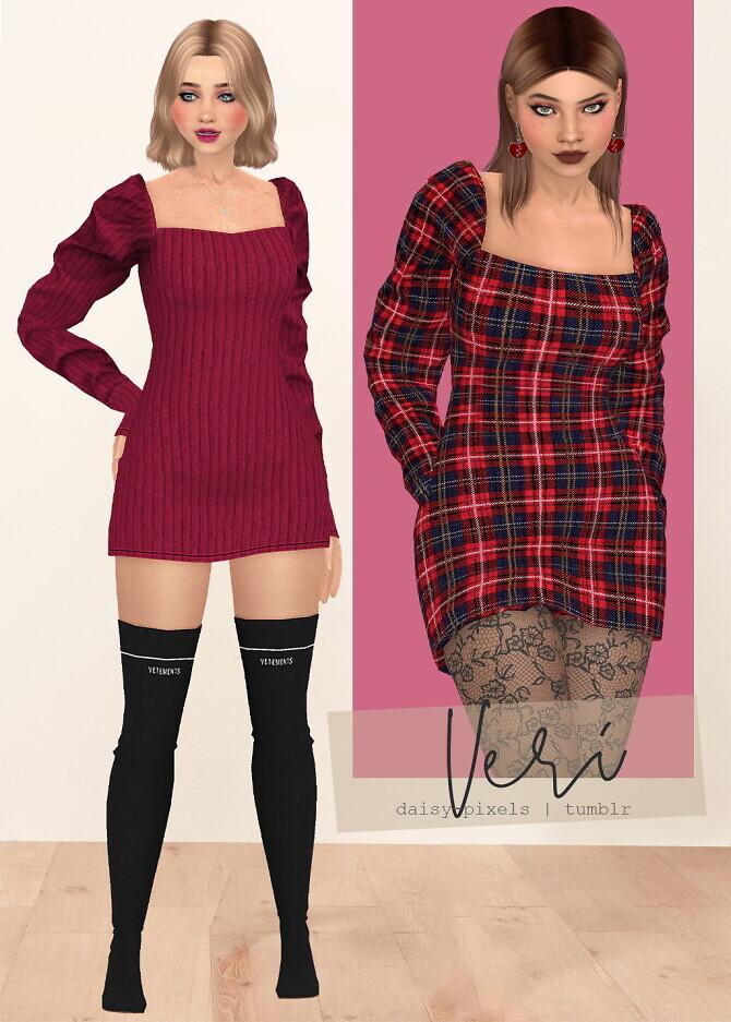 Veri Dress Lace Tights