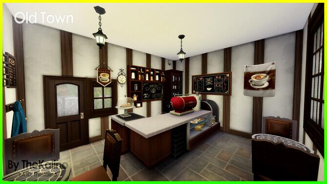 Sims 4 Old Town at Kalino