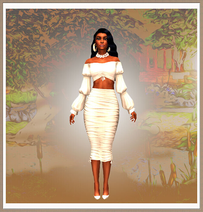 Sims 4 Aya Nakamura by Mich Utopia at Sims 4 Passions