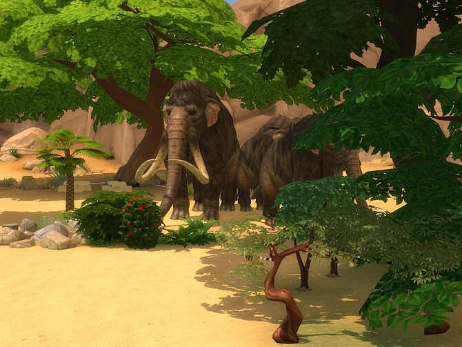 Sims 4 Mammoth Fields at KyriaT's Sims 4 World