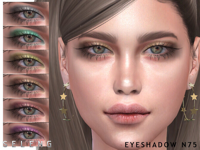 Sims 4 Eyeshadow N75 by Seleng at TSR
